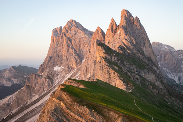 Exploring the Dolomites